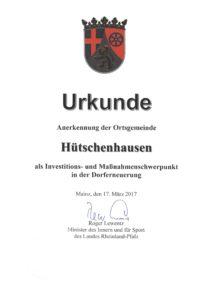 20170317_Urkunde Anerkenn. SPG OG HH